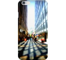 Adelaide - CBD - Sidewalks iPhone Case/Skin