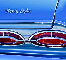 1962 Oldsmobile 98 Taillights and Emblem by Jill Reger