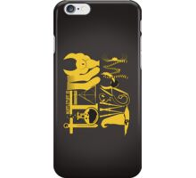 Totally Awesome! *HUFFLEPUFF/ON BLACK* iPhone Case/Skin