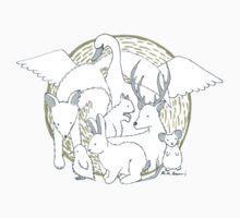 Enchanted Animals Kids Tee