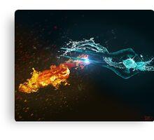 Omniblade versus Plasma Sword Canvas Print
