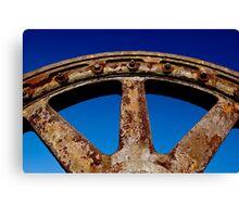 Steel & Rust #3 Canvas Print