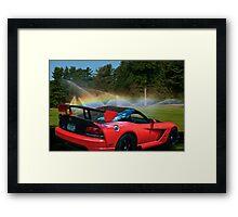 Viper Mist Framed Print