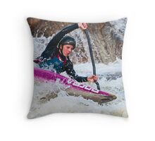 Concentration & Determination Throw Pillow