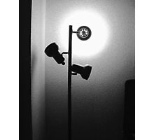 Cheap Motel Lighting Photographic Print