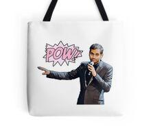 Aziz Ansari Tote Bag