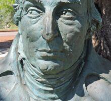 Nicholas Baudin, Sculpture, Broome, Western Australia Sticker