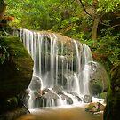 Blue Mountains waterfall by Michael Matthews