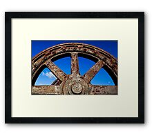 Steel and Rust #2 Framed Print