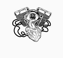 Motor Heart Men's Baseball ¾ T-Shirt