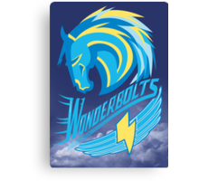 Wonderbolt Sports Canvas Print