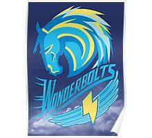 Wonderbolt Sports Poster