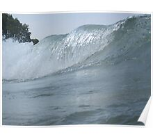 Surfs Up in Whitefish Bay Wisconsin Poster