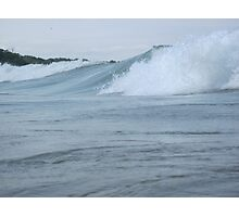 Surfs up in Whitefish Bay Wisconsin Img 406 Photographic Print