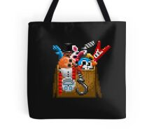 Five Nights at Freddy's 3 - Pixel art - What can we use? - Box of animatronics Tote Bag