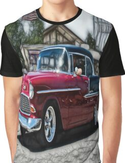 Double Nickel,......55 Chevy Graphic T-Shirt