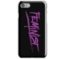 Purple Feminist Logo iPhone Case/Skin