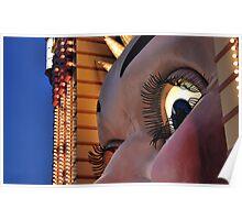 Luna Park Face, Sydney Poster