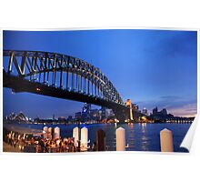 Picture perfect postcard: Sydney harbour Poster
