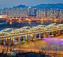 Hangang bridge, Seoul by StavvioD