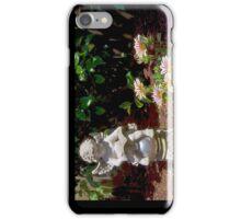 Garden reader iPhone Case/Skin