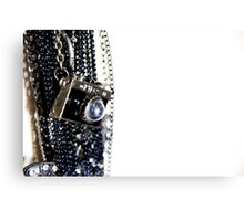 Nikon Camera Necklace Canvas Print