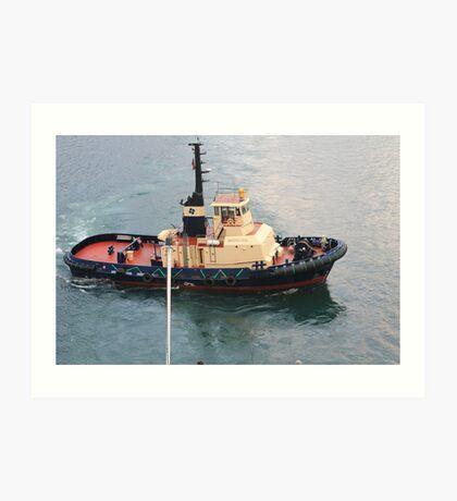 Tugboat Watagan Art Print