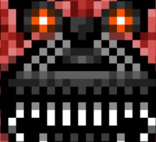 Five Nights at Freddys 4 - Nightmare Foxy - Pixel art Sticker
