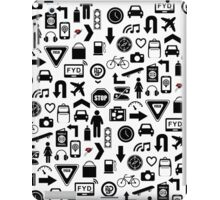 FYD Icons iPad Case/Skin