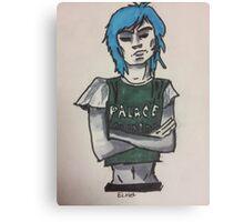 2D Palace shirt V1 Canvas Print