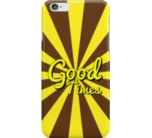 Good Times - Chocolate & Banana iPhone Case/Skin