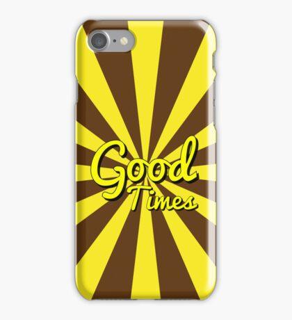 Good Times - Chocolate & Banana iPhone Case/Skin