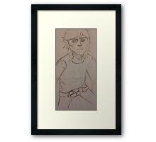 2D Jagger 1 V1 Framed Print