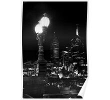 Melbourne Illuminated Poster