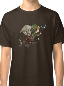 Skyim-Legend of Zelda Classic T-Shirt
