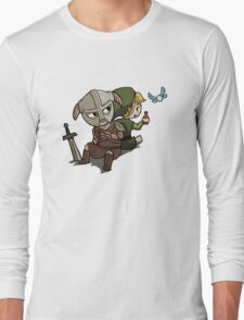 Skyim-Legend of Zelda Long Sleeve T-Shirt