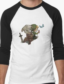 Skyim-Legend of Zelda Men's Baseball ¾ T-Shirt