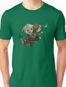 Skyim-Legend of Zelda Unisex T-Shirt