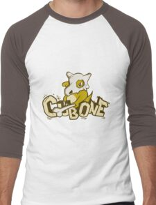 Pewter City Cubone Men's Baseball ¾ T-Shirt