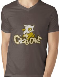 Pewter City Cubone Mens V-Neck T-Shirt