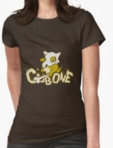 Pewter City Cubone Womens Fitted T-Shirt