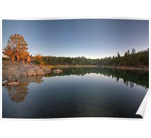 Last Light-Goldwater Lake Poster