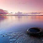 Nature and Man - Redland Bay Qld Australia by Beth  Wode
