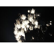 """Fire Works 1""  by Carter L. Shepard Photographic Print"