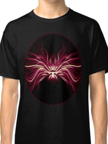 Crimson Flame Abstract Classic T-Shirt