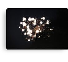 """""""Fire Works 3""""  by Carter L. Shepard Canvas Print"""