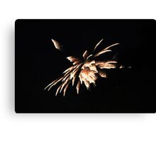 """""""Fire Works 4""""  by Carter L. Shepard Canvas Print"""