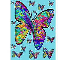 Butterfly-Flutteby..Tee Photographic Print