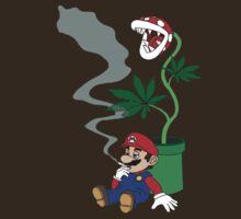 Super Pothead Mario by BodomChild666
