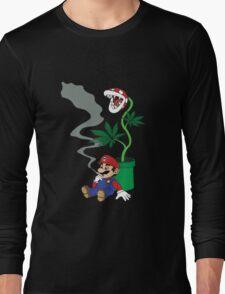Super Pothead Mario Long Sleeve T-Shirt